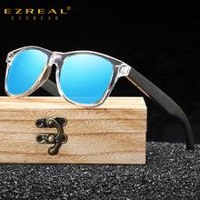 Ezreal бамбуковые солнцезащитные очки для мужчин и женщин Дорожные
