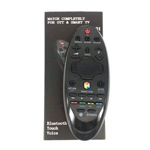 Image 1 - חדש החלפת YY M601 מגע קול Bluetooth שלט רחוק עבור סמסונג חכם טלוויזיה להחליף BN59 01184D BN59 01185B
