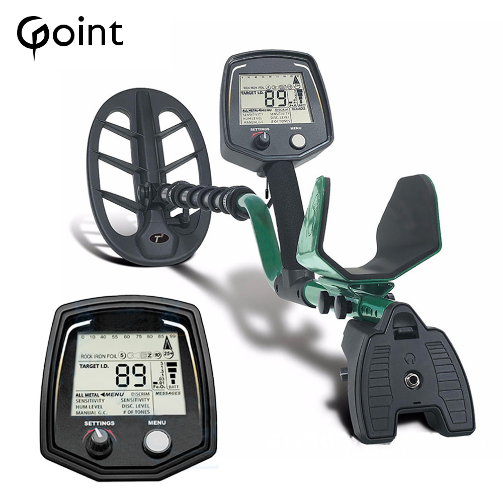 High Sensitivity Professional Underground Metal Detector T2 Searching Treasure Hunter Finder Gold Seeker With LCD Display