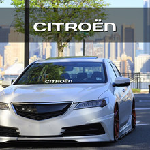 1 pçs carro pára-brisa adesivos estilo do carro decalques de vinil acessórios para citroen c4 c1 c5 c3 c6 c8 ds C-ELYSEE vts c4l xantia ds3