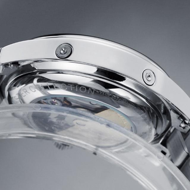 GUANQIN Luxury Casual Waterproof Genuine Leather Mechanical Wrist Watch 2