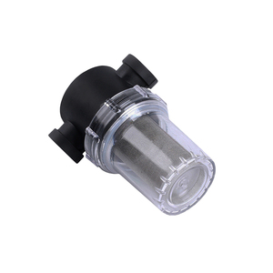 Image 4 - 1/2 3/4 1 Garden Filter Plastic Transparent Irrigation System Impurity Filter Aquaculture Household Water Pipe Filter