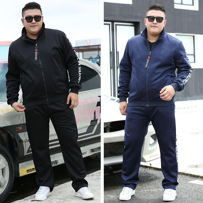 Varsanol New Men Sets Fashion Autumn Spring Sporting Suit Sweatshirt +Sweatpants Mens Clothing 2 Pieces Sets Slim Tracksuit Hots