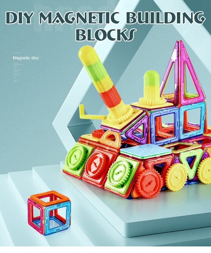 Big Size DIY Magnet Building Blocks