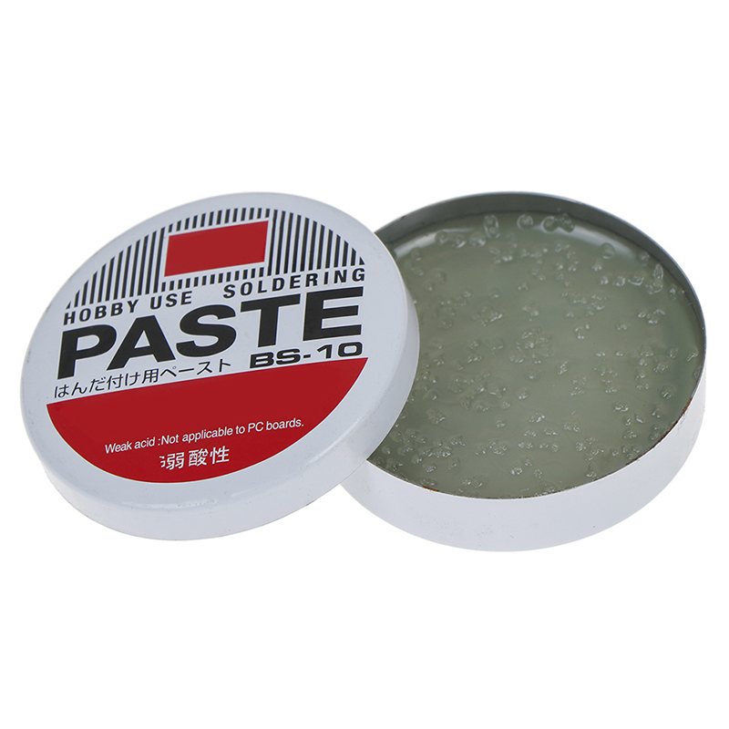 1PC 10g Silver Weak Acid Soldering Solder Paste Solder Flux Grease Paste BS-10 4.5cm Semi Solid