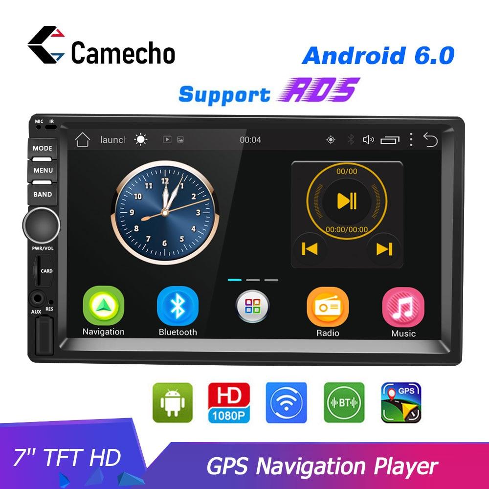 Camecho Android 2 Din Autoradio GPS Navigation voiture stéréo 7