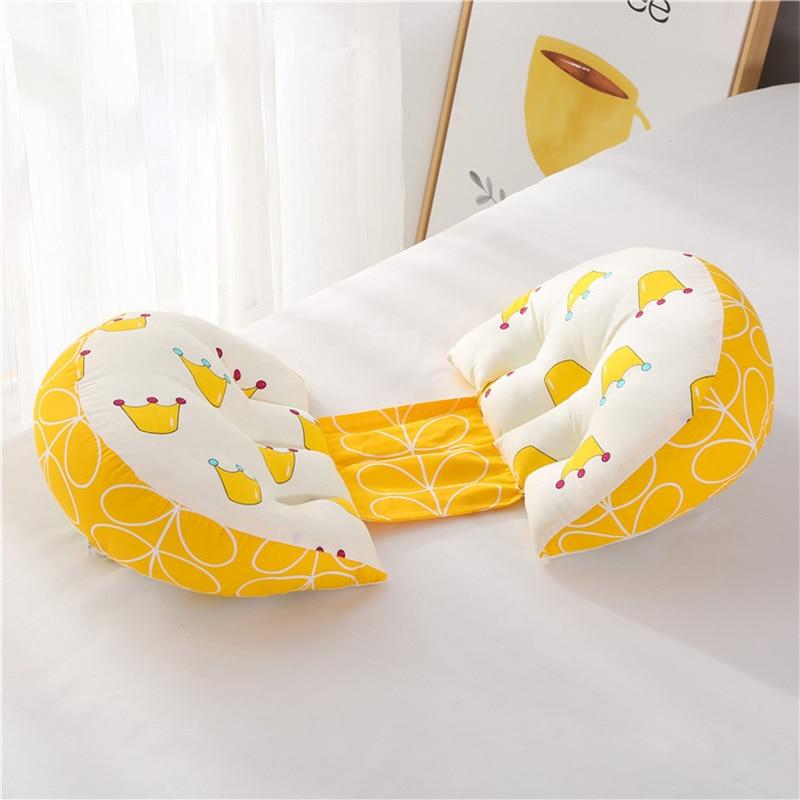 1 шт. ортопедическая поясничная подушка для бокового сна для беременных женщин специальная подушка для сна забота о материнстве Защита позвоночника поясная подушка - Цвет: Crown