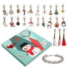Снеговик, Рождественский календарь, женские Украшения для девочек, 24 дня, талисманы, войлок, рождественская елка, Рождественское украшение,, год