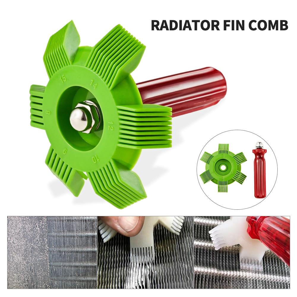 Air Conditioner Fin Repair Comb Condenser Comb A//C Straightener Cleaner Tool Kit