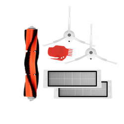 1 * роботизированной Пылесосы для автомобиля основной Кисточки + 2 * сбоку Расчёски для волос + 2 * hepa фильтр + 1 * инструмент для Xiaomi