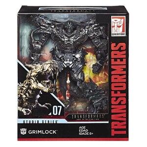 Image 2 - 25 centimetri Transformers Blackout Grimlock SS07 SS08 Collection Action Figure ABS Trasformazione Car Robor Giocattolo Regali Di Natale Per I Bambini