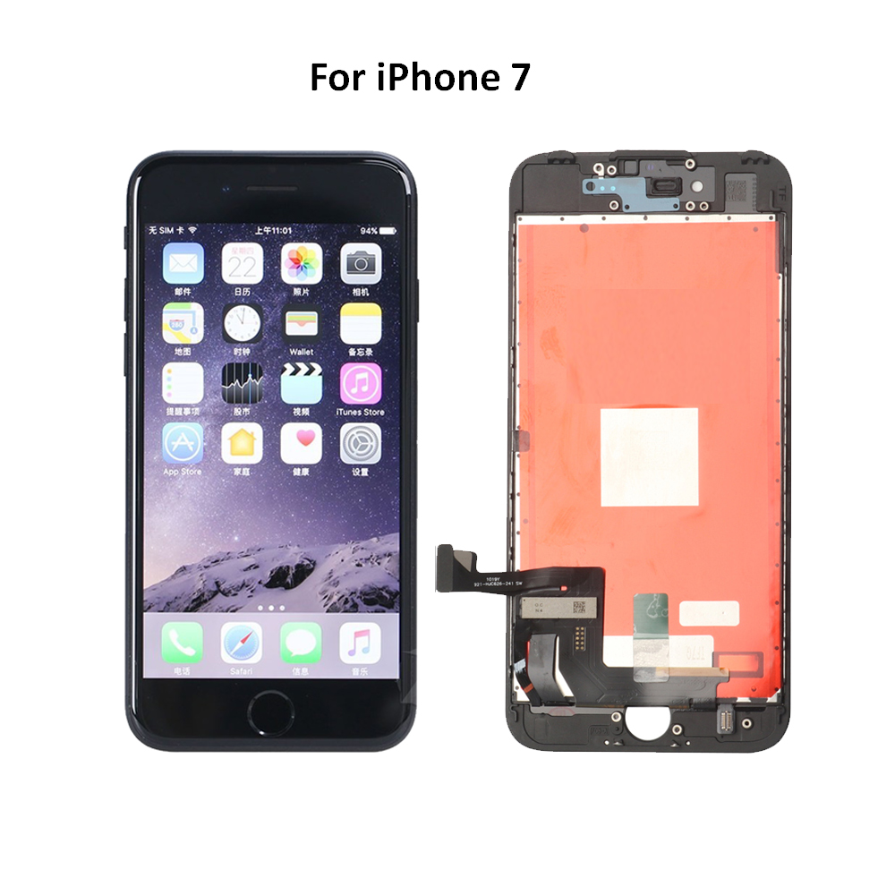 Для iPhone 6 6С 7 8 Plus ЖК-дисплей с сенсорным экраном замена для iPhone 5s ЖК отсутствие Мертвого пиксела AAA класс+++