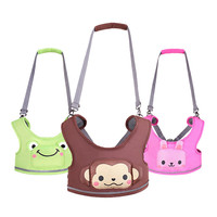 Patchwork Animal Portable Baby Walker Baby Harness Toddler Leash Kids Learning Training Walking Baby Belt Baby Walking Assistant