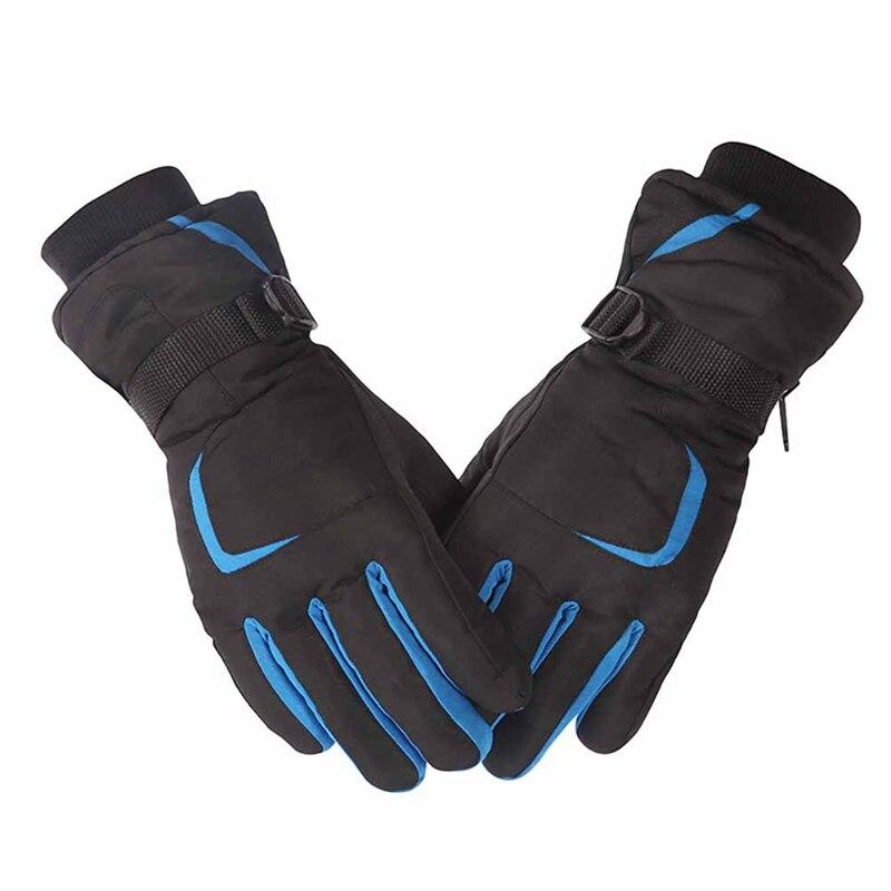 Brand New Ski Gloves Motorcycle Waterproof Fleece Thermal Gloves Snowboard Snowmobile Gloves Men Women Winter Snow Gloves Male Q