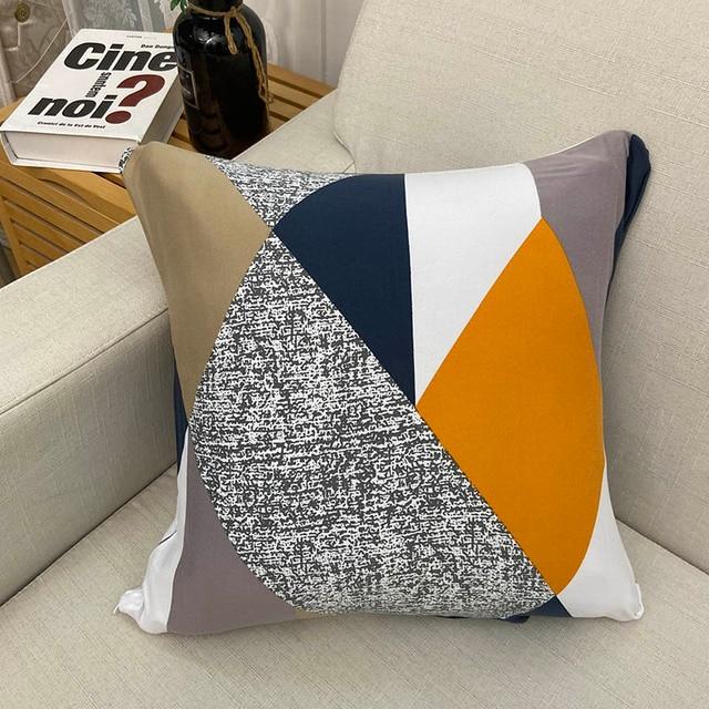 Abstract Printed Pillow Case Set 4 pcs 1