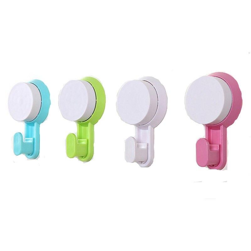 Красочные крючок на присоске Ванная комната водостойкий КРЮЧОК сильный, без швов, Nailless клей крючок Кухня плитка настенный сегодня крючок