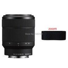 Nowy oryginalny obiektyw Zoom gumowy pierścień/gumowy uchwyt części zapasowe do Sony FE 28 70mm F3.5 5.6 OSS SEL2870 obiektyw
