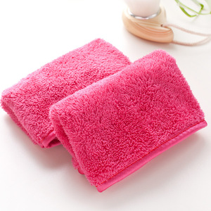 Image 4 - Reusable Microfiber Facial Cloth Face Towel Natural Antibacterial Protection Makeup Remover 40*17cm Cleansing Beauty Wash Tools