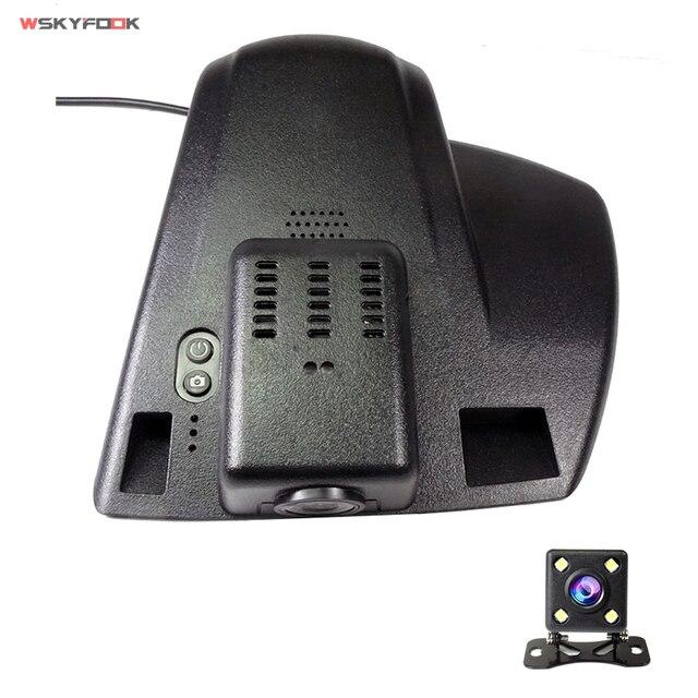 Wifi App Auto Dvr Camera Voor Ford Mondeo MK5 2013 2017 Novatek 96655 Imx 322 Volledige 1080P Dual video Recorder Dvr Dash Cam