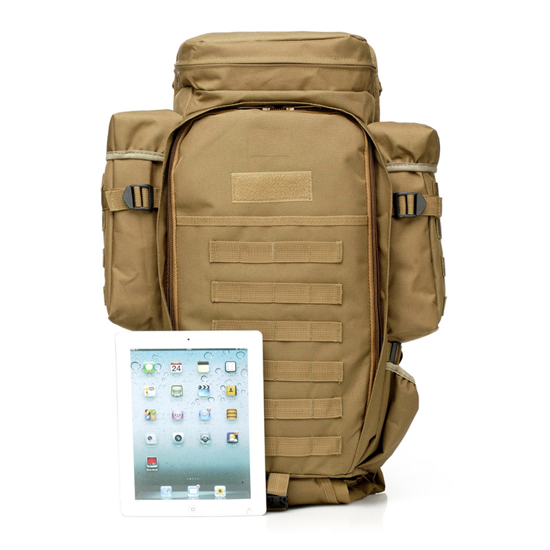65L Outdoor Backpack Military Tactical Bag Pack Rucksack For Hunting Shooting Camping Trekking Hiking Traveling