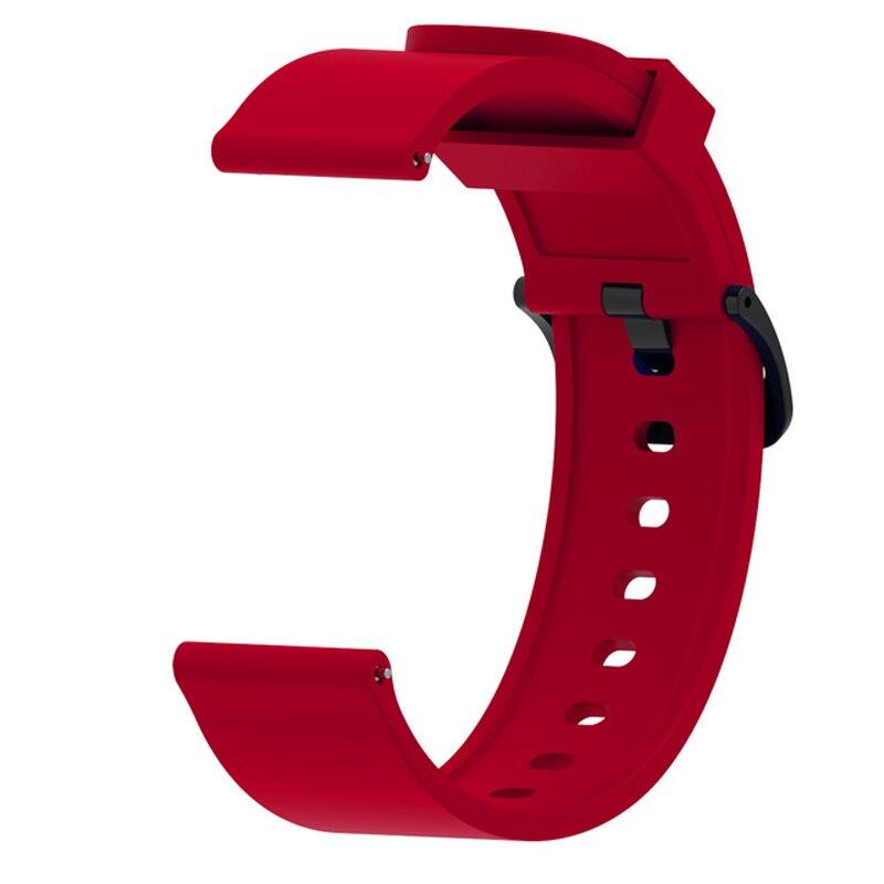 Силиконовый ремешок для Samsung Galaxy 42 мм Active Sport Gear S2, классические Смарт-часы, браслет 20 мм, ремешок для Huami Amazfit Bip