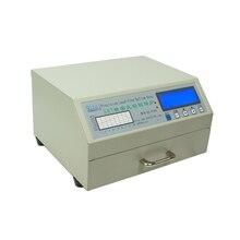 Máy Tính Để Bàn Tự Động QS 5100 600W Reflow Lò Nướng Tự Động SMD Làm Lại Diện Tích 180*120 Mm