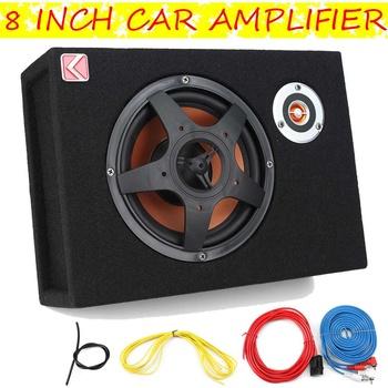 8 Cal 480W Subwoofer samochodowy zmodyfikowany głośnik Stereo Audio stabilny bas Subwoofer wysokiej jakości odtwarzacz dźwięku samochodowy odtwarzacz Audio tanie i dobre opinie Audew Car Audio Subwoofers 8 Inch 4 ohm 12 v 4819g Zamknięta systemy subwoofer Black up 91 dB 20 HZ20KHz