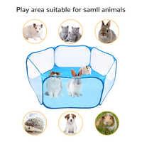 Pet Box Portatile Aperto Indoor/Outdoor Piccola Gabbia per Animali Gioco Parco Giochi Recinzione per il Criceto Cincillà E Guinea-Suini