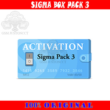 New sigma box / sigma key pack 3 / Sigma Pack3 Activation Used to activate the Sigma box and Sigma key dongle фото