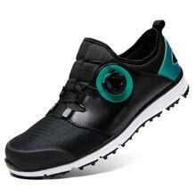 Новейшие туфли для гольфа мужчин зимняя высококачественная уличная