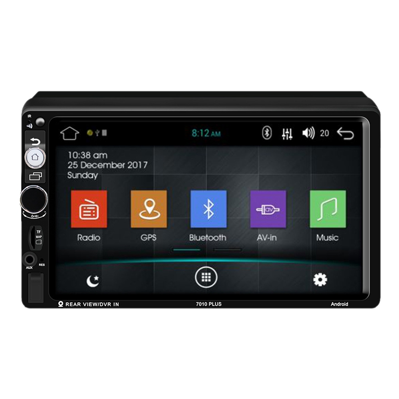 Android 8.1 Car Radio Gps Navigation <font><b>2</b></font> Din Car Radio 7 Inch Car Mp5 Multimedia Player FM AM RDS Radio Bluetooth Player <font><b>7010</b></font> image