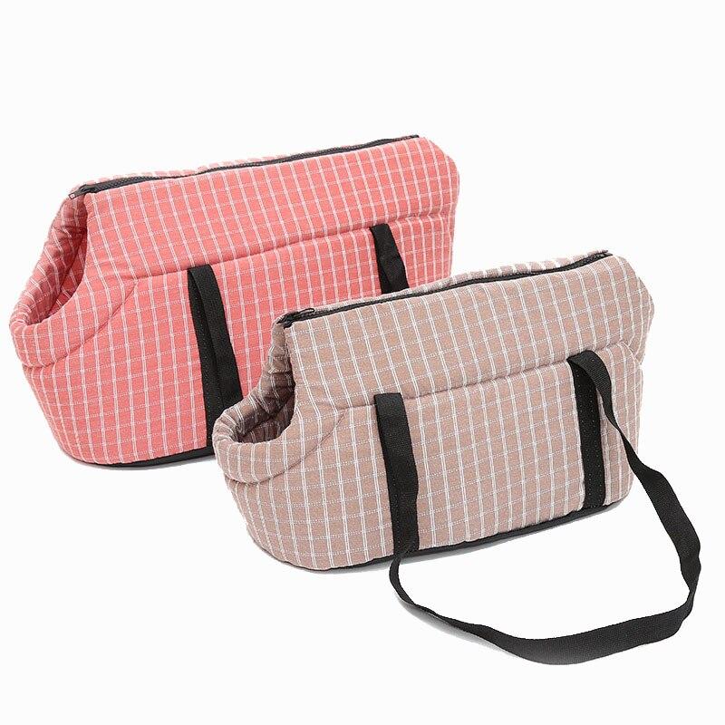 Мягкие Наплечные сумки для домашних питомцев, защищенный рюкзак для переноски, уличная переноска для щенков, для маленьких собак, Прямая по...
