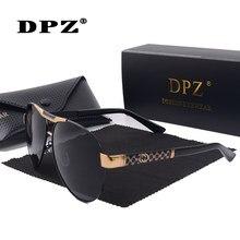 DPZ – lunettes de soleil polarisées pour hommes et femmes, verres de marque classiques de conduite, rétro, de styliste, pour hommes et femmes, 60mm, UV400 Oculos Del