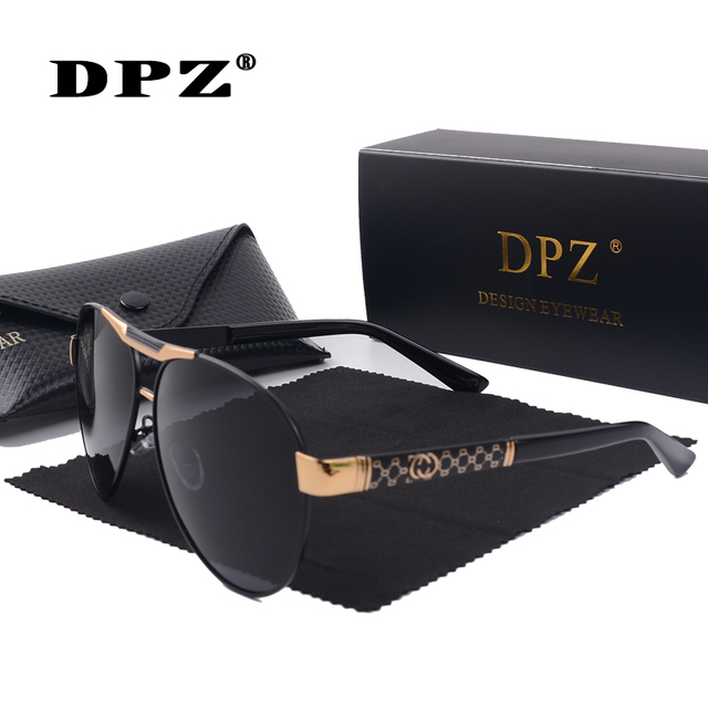 Мужские cолнцезащитные очки авиаторы DPZ