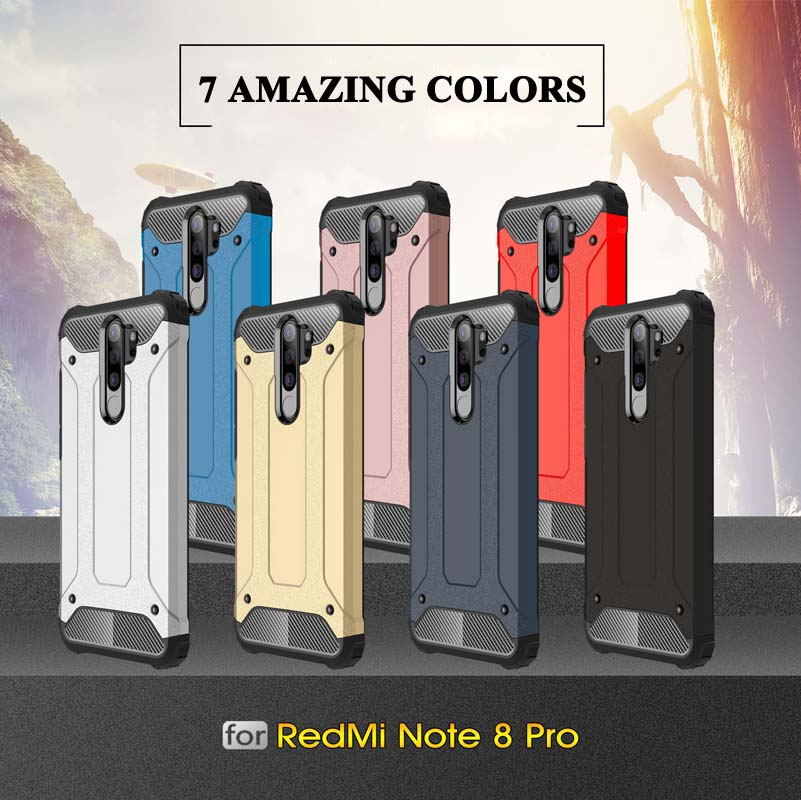 Case for Xiaomi Redmi Note 8 Pro 7 6 8T 4X 5A 6A 7A 8A 5 Plus S2 GO - Բջջային հեռախոսի պարագաներ և պահեստամասեր - Լուսանկար 6