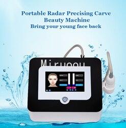 2019 nuevo v max con 3,0mm 4,5mm 2 cartuchos Vmax máquina de ultrasonido de elevación facial para uso en salón