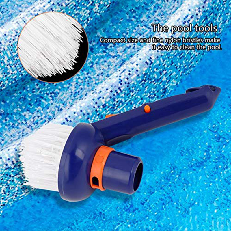 Pool Cleaning Brush Vacuum Brush SPA Tubs Swimming Pools Clean Steps Stairs Durable Nylon Bristle Hot Tubs Cleaning Brushes