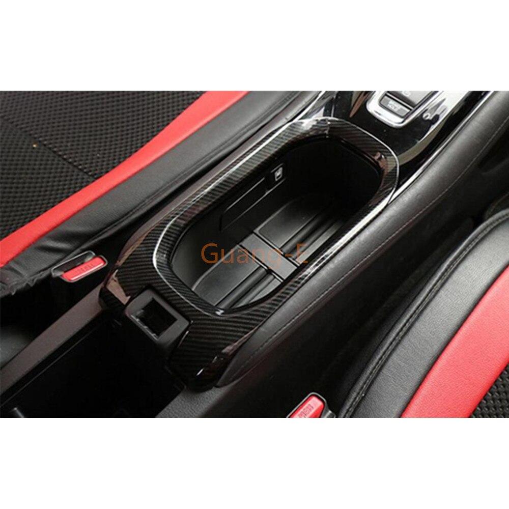 Yp ABS Soporte de Taza de Agua decoraci/ón Cubierta Recortar para Honda Vezel HR-V HRV 2014-2017
