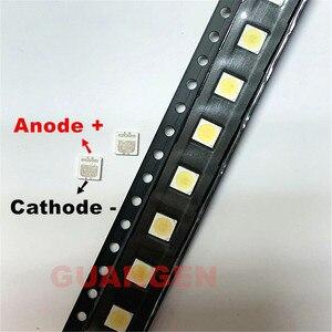 Image 2 - 10000 adet seul yüksek güç LED arkadan aydınlatmalı 2W 3535 6V soğuk beyaz 135LM arka ışık boncuk TV uygulama SBWVL2S0E