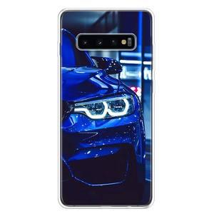 Синий красный автомобильный чехол для Bmw, чехол для телефона Samsung Galaxy S10 S20 Ultra Note 10 9 8 S9 S8 J4 J6 J8 + Lite Plus Pro S7 Coque