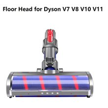 Carpet Hard Floor Motor Head Electric Cleaning Quick Release Soft Roller Brush For Dysons V7 V8 V10 V11 Vacuum Cleaners Parts
