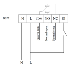 Image 5 - 스마트 홈 Z 웨이브 플러스 마이크로 드라이 접점 스위치 Mcohome MH DS221 EU 868.4 자동 도어 워터 밸브 전기 밸브 용