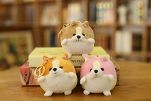 Cute Soft Corgi Dog Plush Toy Stuffed Animal Cartoon Pillow Lovely Christmas Gift for Kids Kawaii Valentine Presents