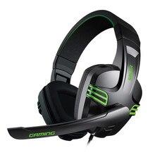 3.5mm kablolu kulaklık oyun kulaklığı PC oyun Stereo mikrofonlu kulaklık bilgisayar PC Gamer için