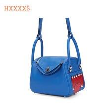Hxxxxs Роскошные брендовые сумки boston из натуральной кожи