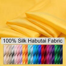 3 متر بلون طبيعي 100% الحرير هابوتاي النسيج 8 متر ل بطانة هابوتاي الأقمشة وشاح المواد