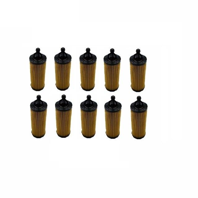 10pcs Oil Filter for Jeep Chrysler Dodge Ram 3.2L 3.6L Pentastar Engine Set of 10 Oil Filters Mopar 68191349AA PH97
