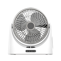 Usb Desk Fan Small Personal Air Circulator Fan Portable Electric Table Desktop Fan Rechargeable Travel Fans For Camping Office R|Fans| |  -