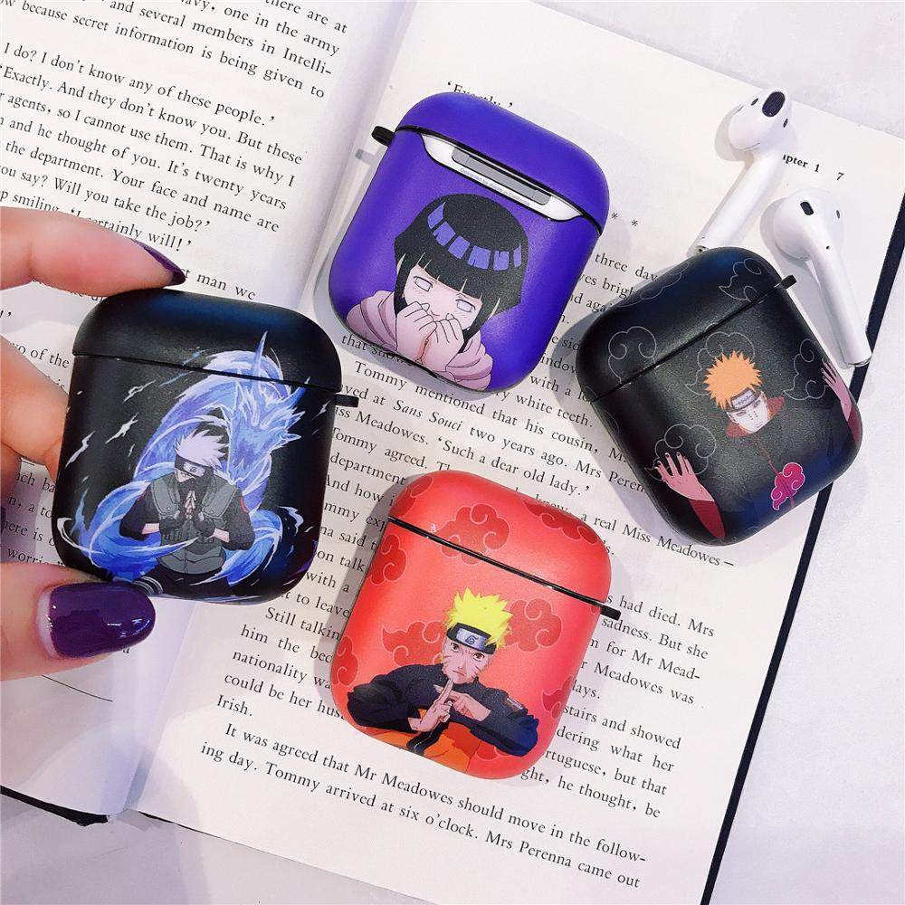 For airpods Pro case cute Naruto Kakashi Hinata soft case For Apple new Airpods 1/2/3 Cover wireless Bluetooth Earphone case(China)