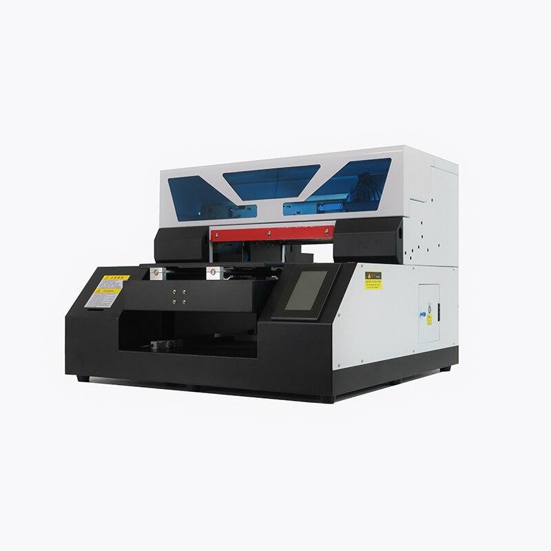 PUNEHOD A4-19N Multifunktions Laser Drucker Inkjet UV Drucker T Shirt Druck Maschine A4 Größe 6 farben Getrennt tinte sac